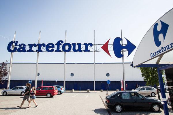 Obchodná sieť Carrefour. Ilustračné foto.
