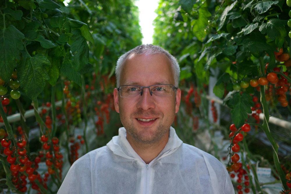 Jirí Stodůlka, paradajková Farma Kameničany.