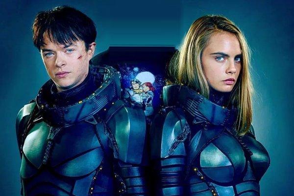 Film Valerian and The City of aThousand Planets bude mať vyše 2700 špeciálnych efektov ahercov Danea DeHaana s Carou Delevingneovou vhlavnej úlohe.