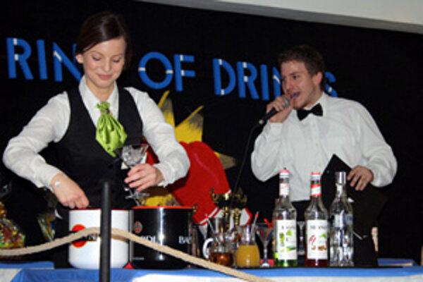 Počas Gastrodní sa predstavili aj mladí barmani.
