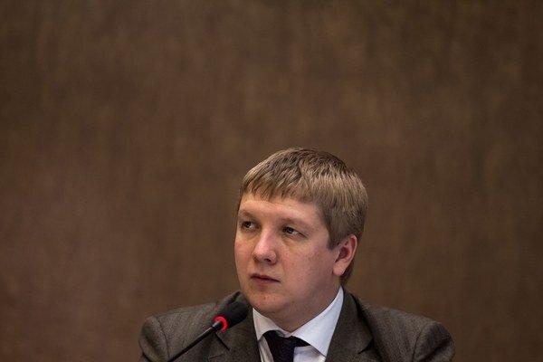 Šéf spoločnosti Naftogaz Andriy Kobolyev.