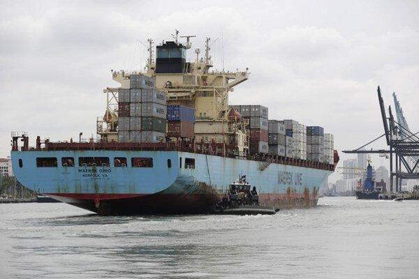 Loď spoločnosti Maersk Line.