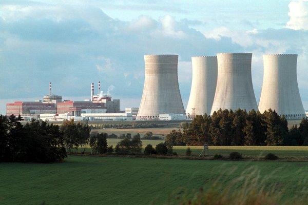 Česká jadrová elektráreň Temelín.