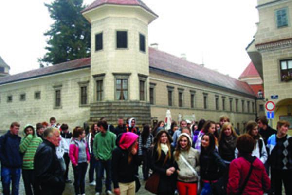 Novácki žiaci navštívili aj mesto Telč.
