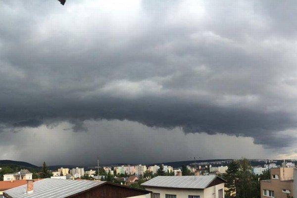 Búrka nad Košicami