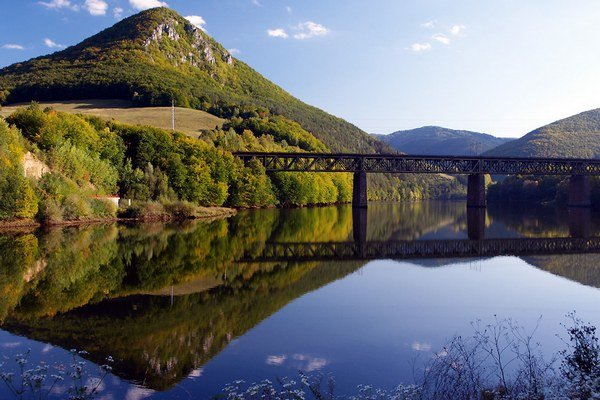 Ružínsky viadukt.