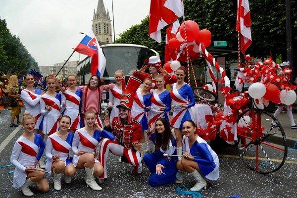 Mažoretky zPrešova reprezentovali vo Francúzsku.