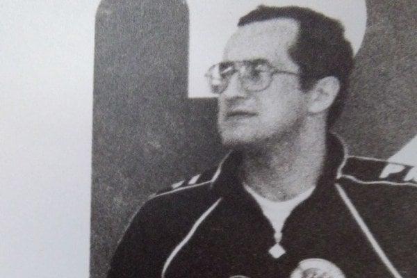 Milan Foľta. Na trénerskej pozícii.