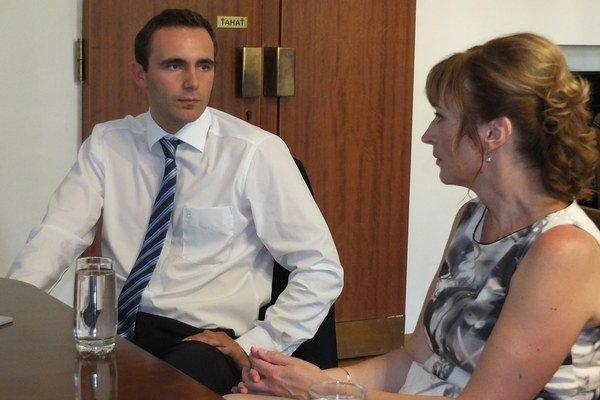 Nový zamestnávateľ Josef Ebnet informoval primátorku o investičnom zámere.