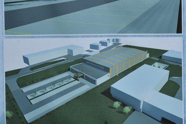 Vizualizácia. Bude sa volať PSK aréna.