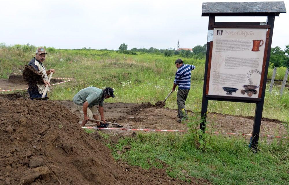 Archeológovia počas tohto leta pokračujú v odkrývaní vzácneho náleziska.