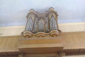 Organ v evanjelickom kostole v Hodruši-Hámroch je starý 157 rokov.