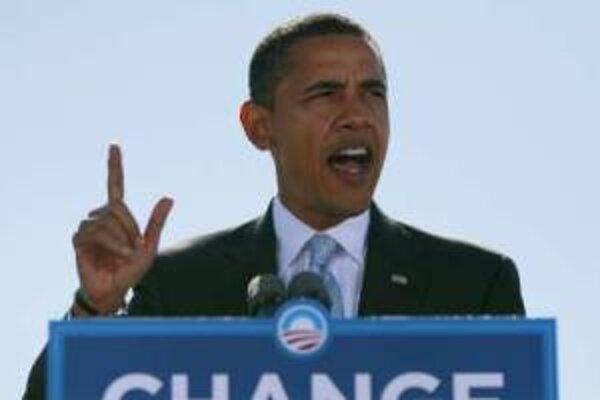 Barack Obama vo finále kampane.