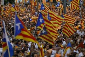 Katalánsko sa chce  od Španielska osamostatniť.
