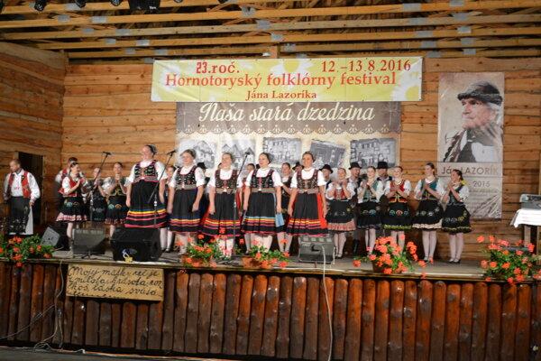Spomienka na Jána Lazoríka na festivale v Krivanoch.