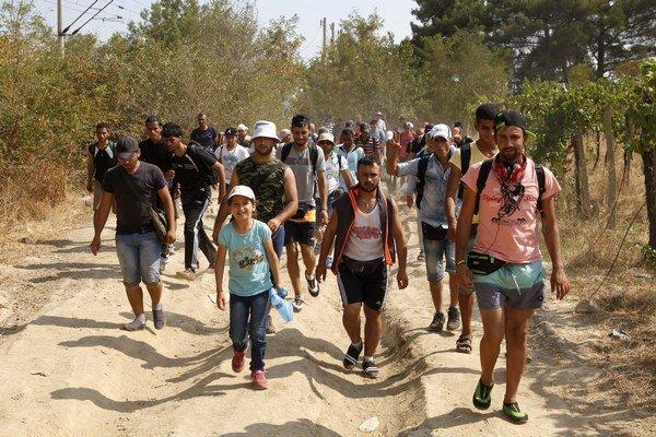 Maďarsko čelí prílivu migrantov.