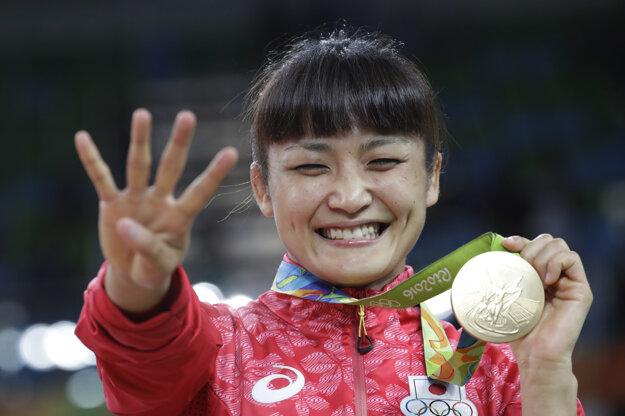 Aj zápasenie má svoj fenomén. Japonka presne vie koľko má zlatých medailí.