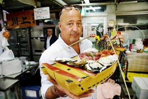 Ak to vyzerá dobre, zjedzte to! - radí šéfkuchár bizarných jedál.
