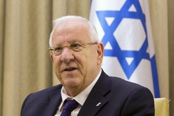 Izraelský prezident Reuven Rivlin.