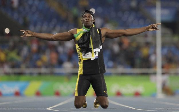 Usain Bolt sa zaradil medzi legendy.