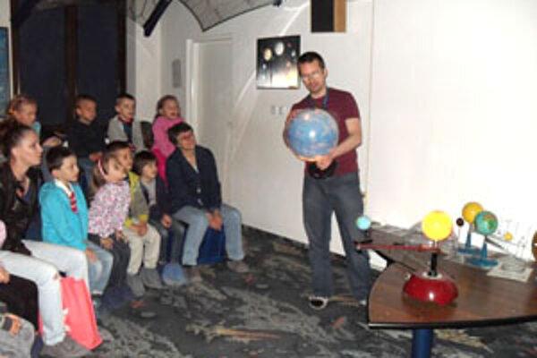 Deti sa dozvedeli veľa nového o vesmíre.