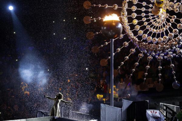 Záverečný ceremoniál v Riu.