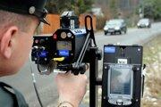 Na cestách bude policajná akcia zameraná na meranie povolenej rýchlosti.