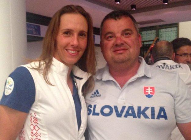 Martin Stanovský s Jankou Dukátovou.