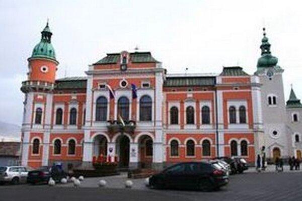 Budova Mestského úradu v Ružomberku.