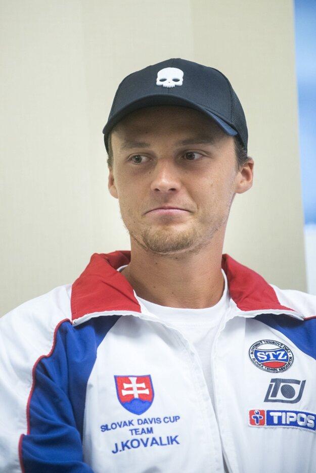 Jozef Kovalík je aj členom daviscupového tímu.
