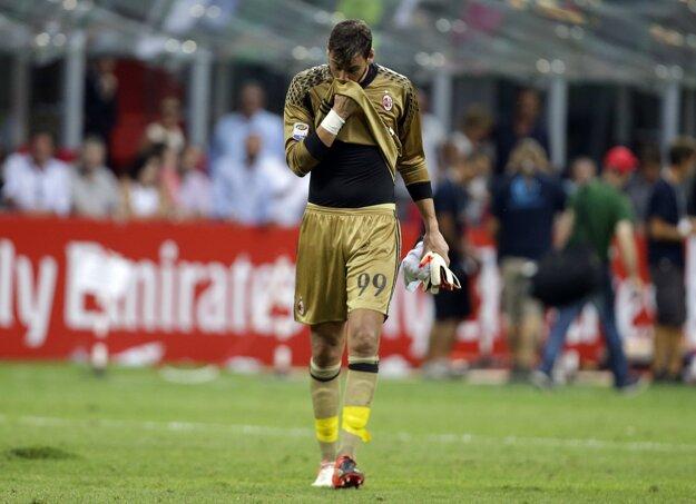 Donnarumma bol najlepším hráčom AC Milána.
