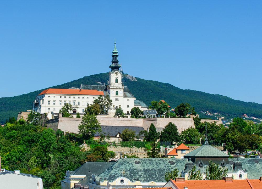 Nitriansky hrad siahal v stredoveku až po Župný dom a Horný Palánok a až do polovice 15. storočia mal rozlohu 8,5 hektára.