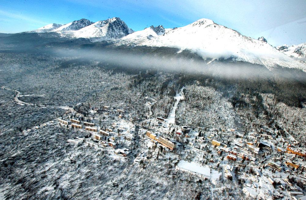Víchrica vo Vysokých Tatrách v roku 2004.