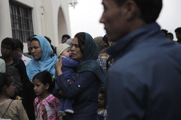 Počet nelegálnych migrantov v Grécku sa zvýšil šesťnásobne.
