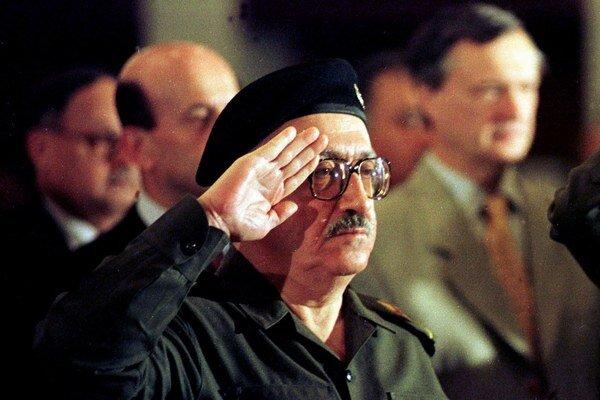 Tárik Azíz zomrel v piatok vo veku 79 rokov.