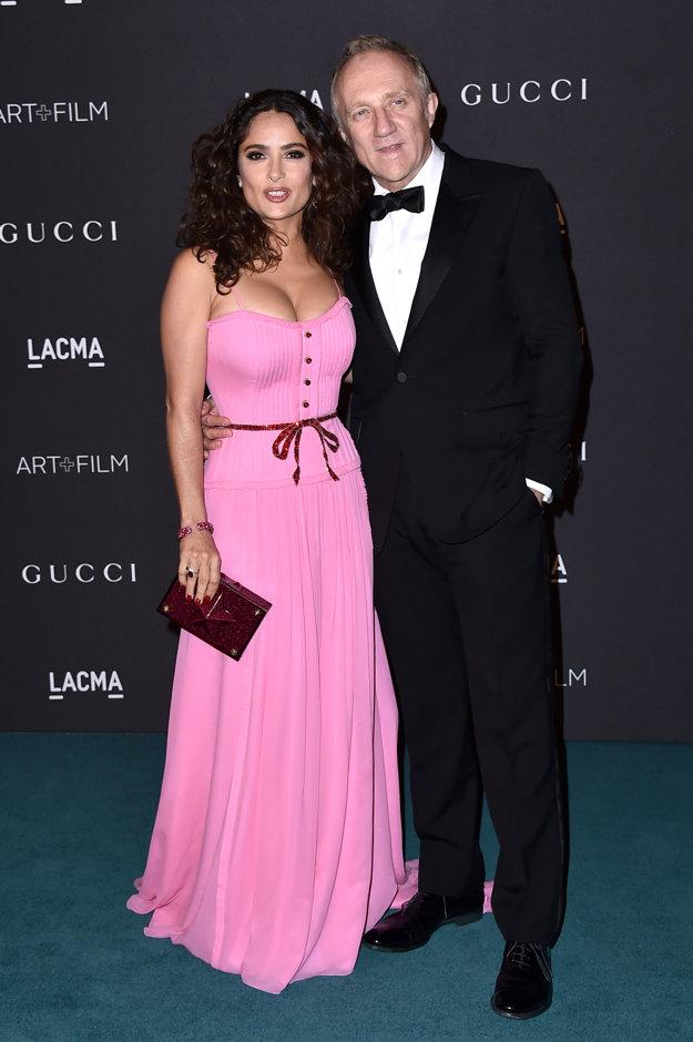 S manželom Francoisom Pinaultom