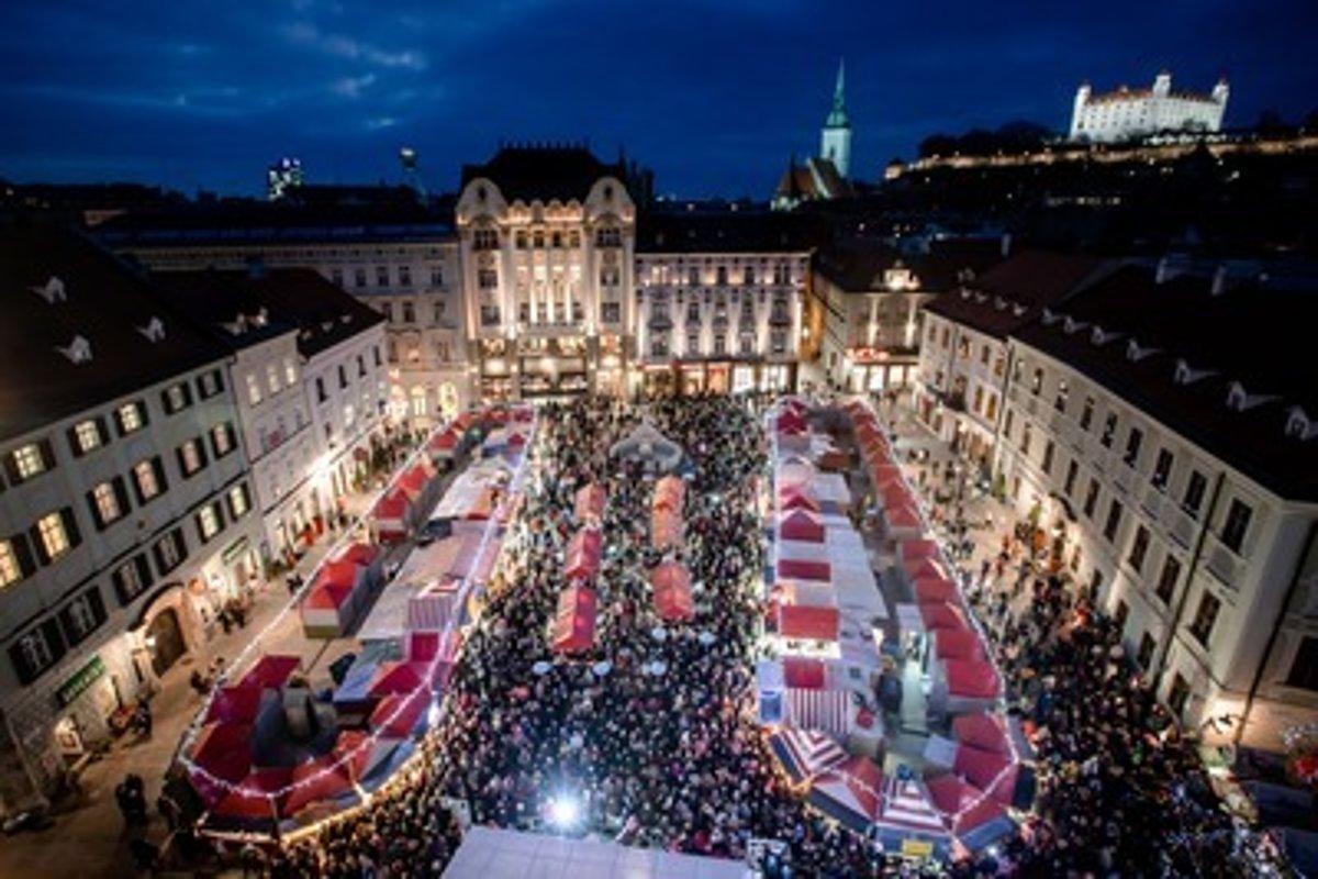 5e3457d07 Bratislava prijíma prihlášky na vianočné trhy - SME | MY Senec