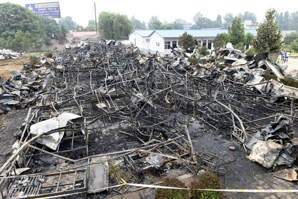 Oheň zachvátil obytnú budovu, ktorú využíval súkromný domov sociálnej starostlivosti.