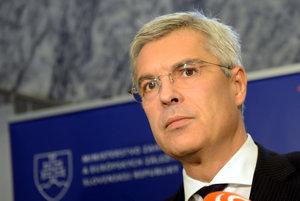 Štátny tajomník ministerstva zahraničných vecí a splnomocnenec vlády SR pre predsedníctvo SR v Rade EÚ Ivan Korčok.
