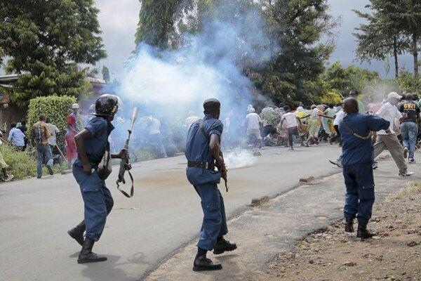 Situácia v hlavnom meste Bujumbura je napätá.
