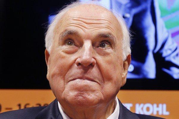 Bývalý nemecký kancelár Helmut Kohl.