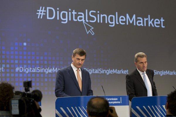 Predstavitelia Európskej komisie ohlásili ambiciózny projekt jednotného digitálneho trhu.
