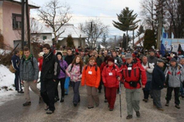 Obrovský záujem turistov prekvapil i samotných organizátorov.