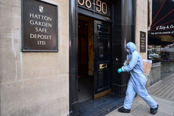 V štvrti Hatton Garden sídli takmer 300 obchodníkov s diamantmi.