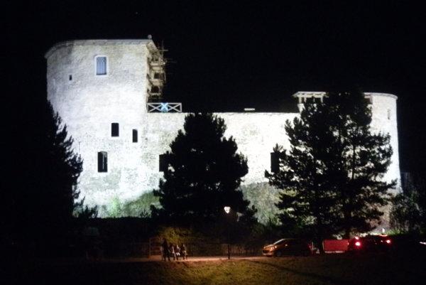 Hrad v Liptovskom Hrádku.