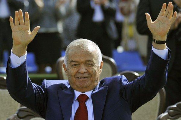 Uzbekistanský prezident Islam Karimov.