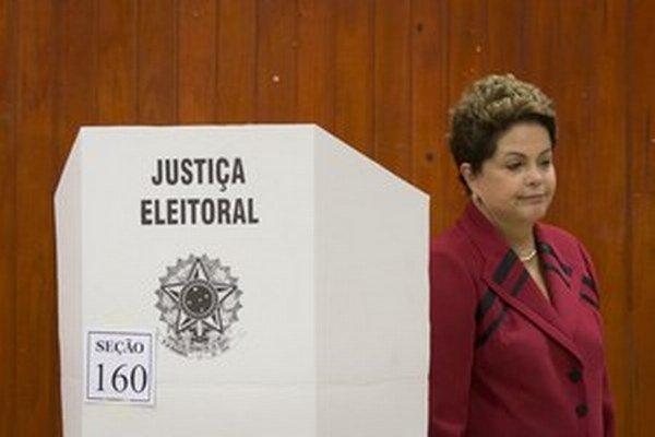 Prezidentka Dilma Rousseffová.