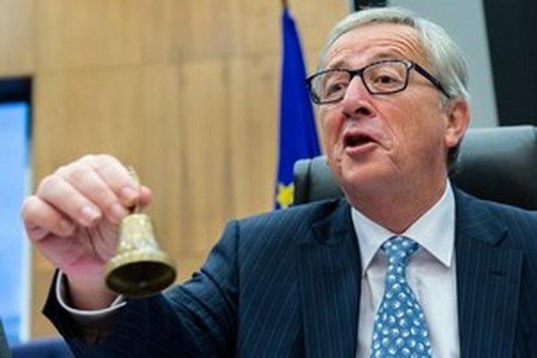 Bývalý luxemburský premiér a šéf Európskej komisie Jean Claude- Juncker.