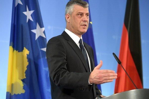 Kosovský minister zahraničných vecí Hashim Thaci.