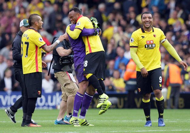 Watford oslavoval druhé ligové víťazstvo v sérii.